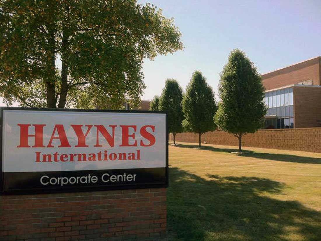 Haynes International coil processing facility