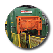 Mill & Coil Processing Shears for metal processing