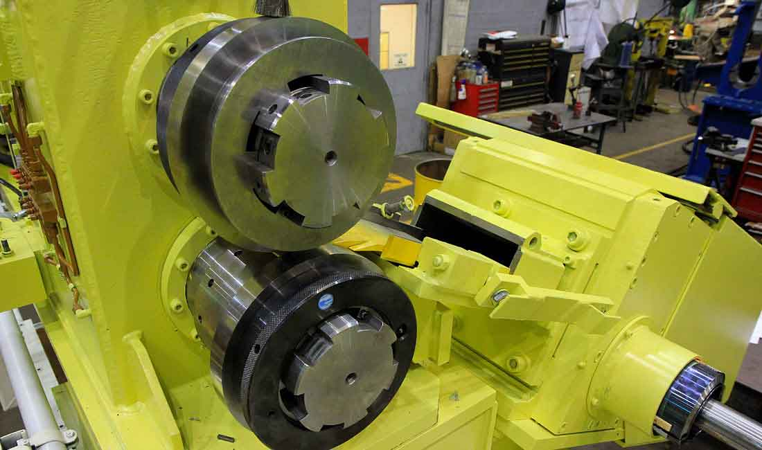side trimmers for coil processing lines