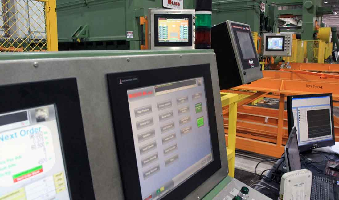 automation for coil processing equipment