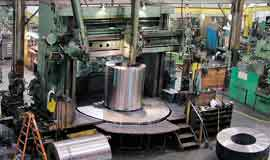 contract manufacturing for steel processing equipment