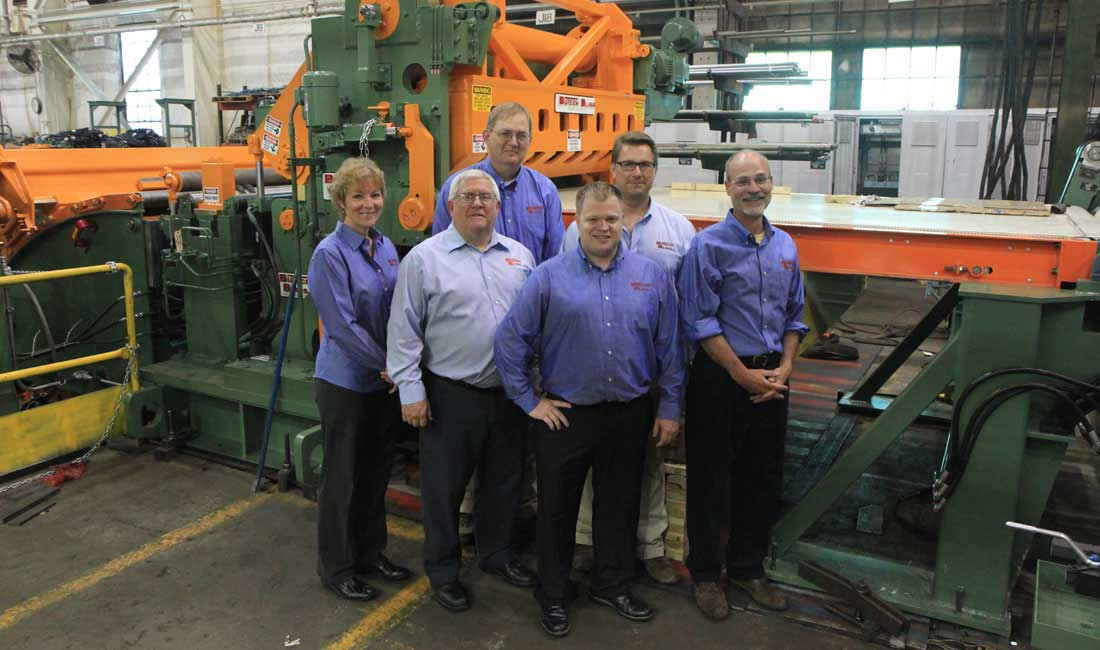 spare parts team for coil processing equipment