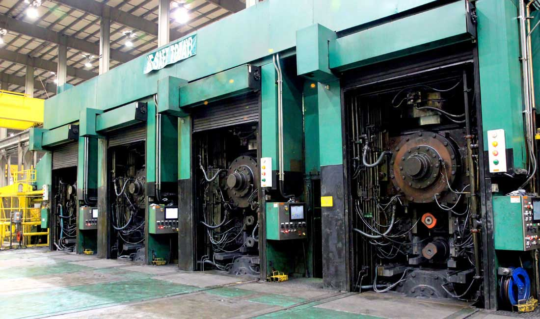cold mill for metal processing