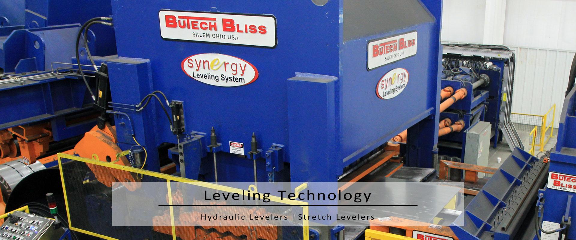 hydraulic roller leveler & synergy-stretch leveler