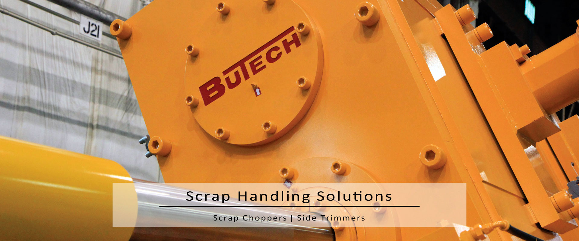 scrap choppers & side trimmers