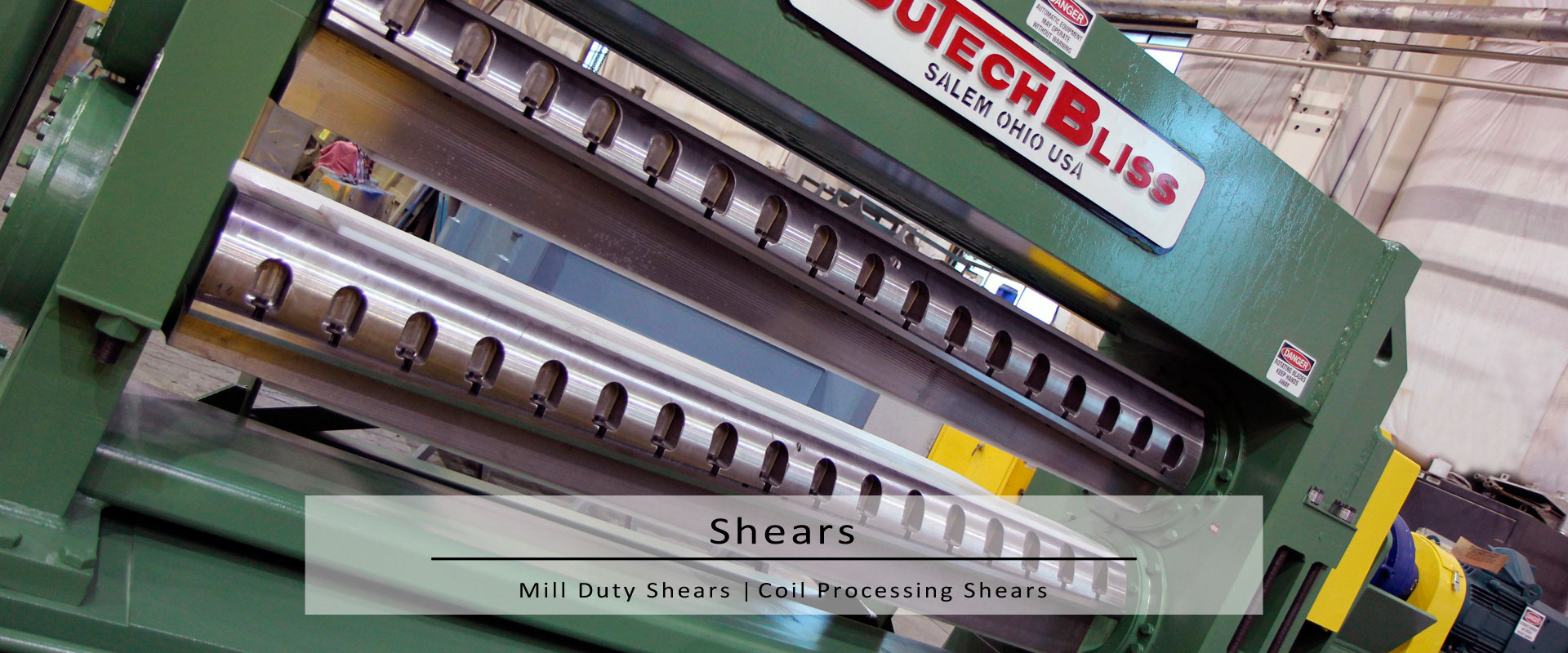 coil processing & mill shears