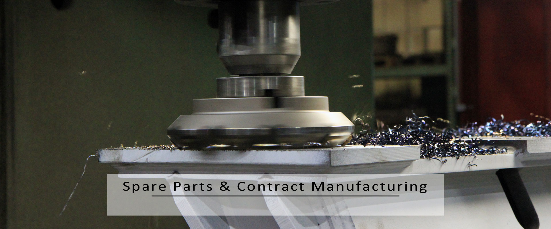 spare parts & contract manufacturing