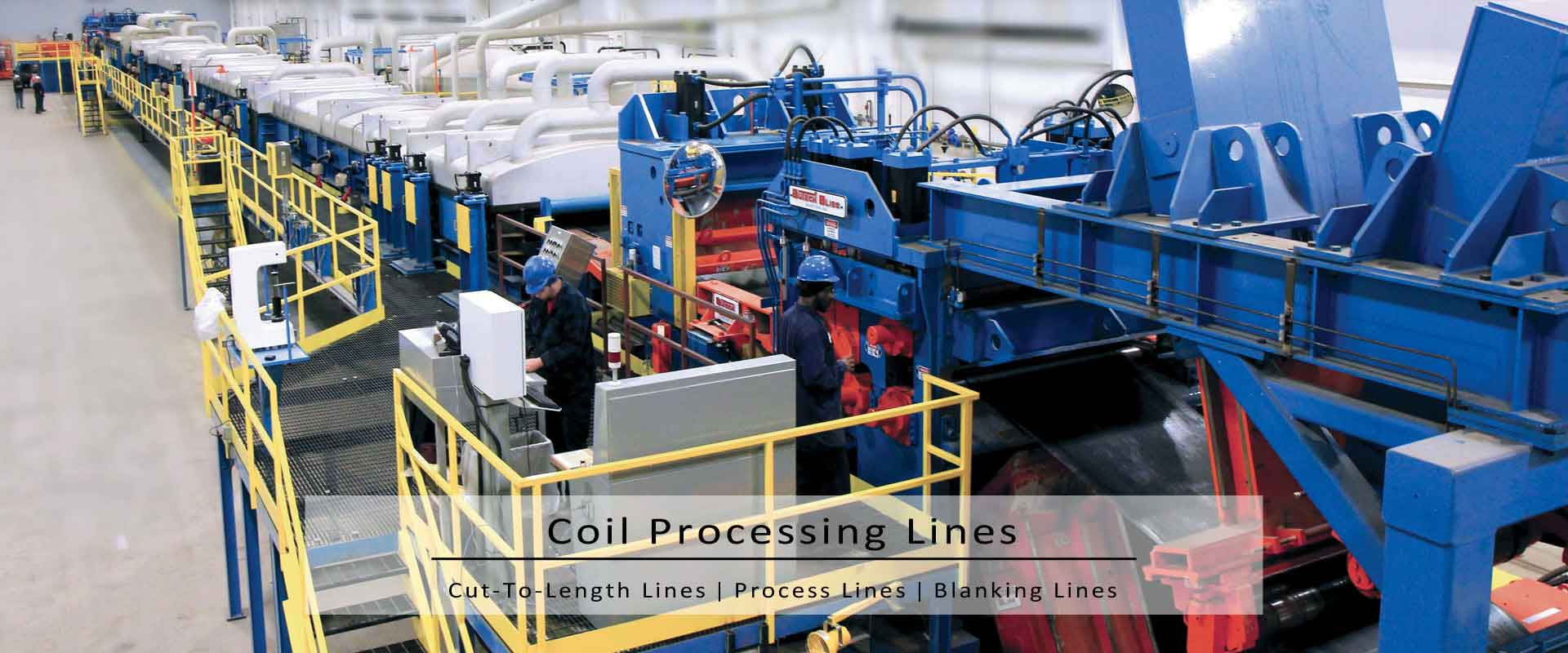 cut-to-length coil lines.
