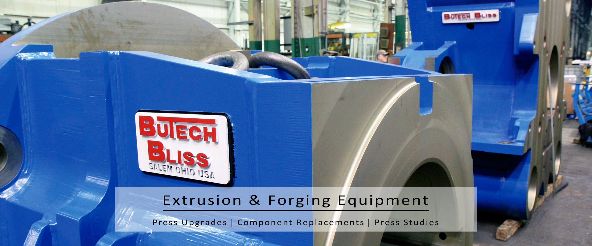 extrusion & forging equipment-press-upgrades-component-replacement-press-studies