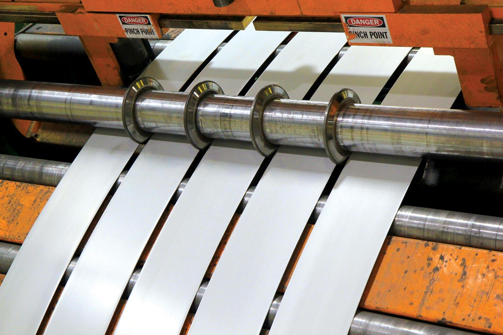 cut-to-length-slitting-line